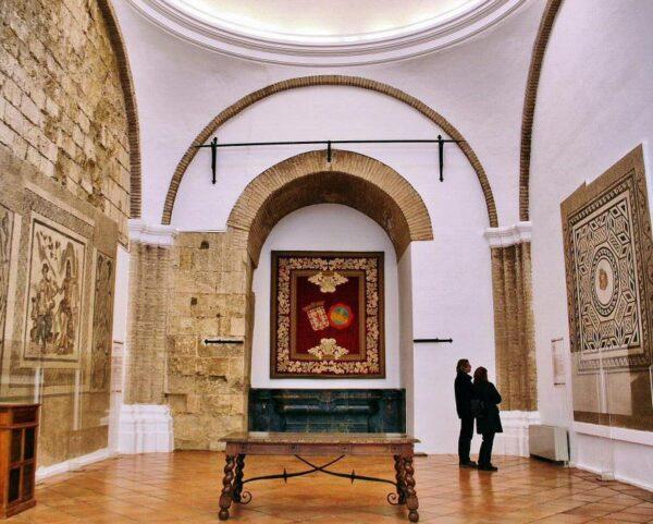 Salón de los Mosaicos en Alcázar Reyes Cristianos de Córdoba