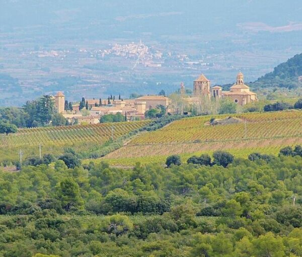 Monasterio de Poblet en provincia de Tarragona