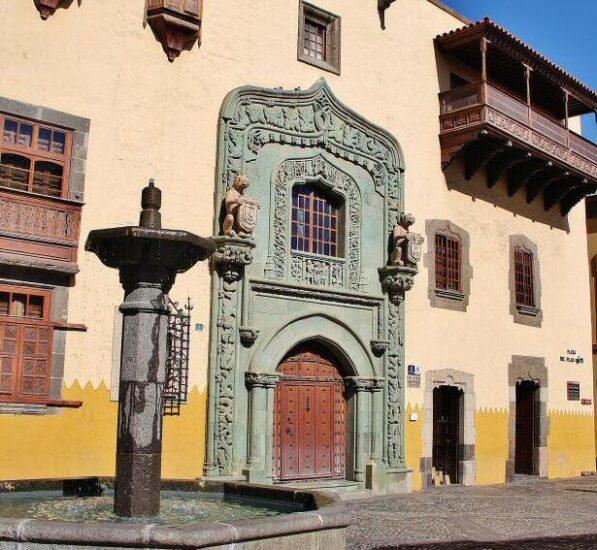 Casa de Colón en Vegueta en Las Palmas de Gran Canaria