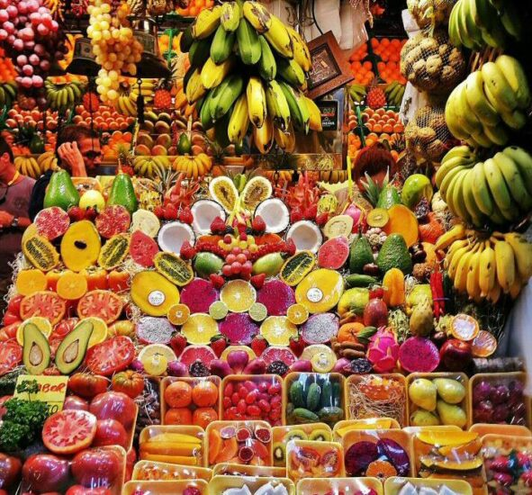 Mercado de Vegueta en Las Palmas de Gran Canaria