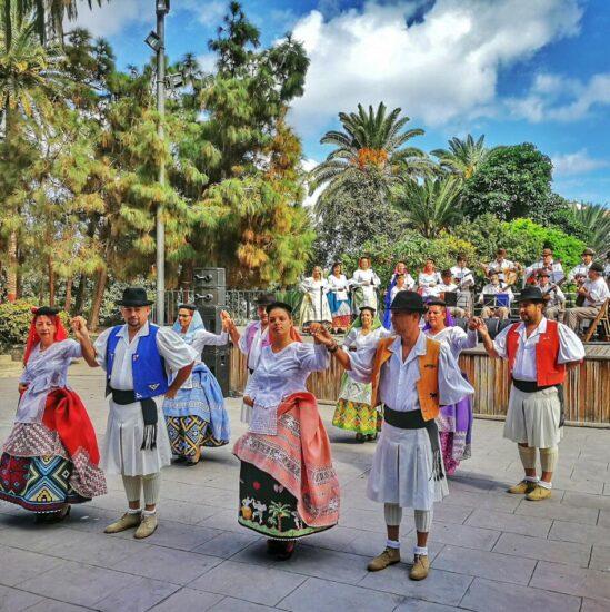 Actuaciones en el parque Dorama en Las Palmas de Gran Canaria