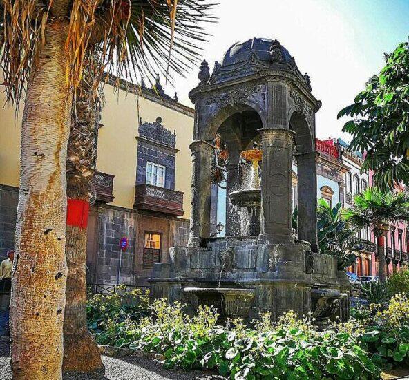 Plaza del Espíritu Santo en Vegueta en Las Palmas de Gran Canaria