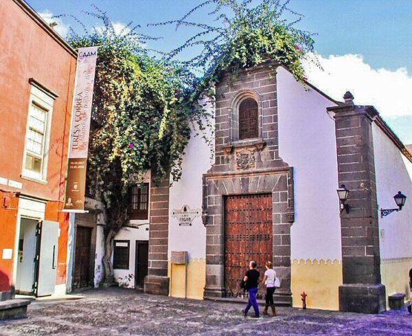 Plaza San Antonio Abad en Vegueta en Las Palmas de Gran Canaria