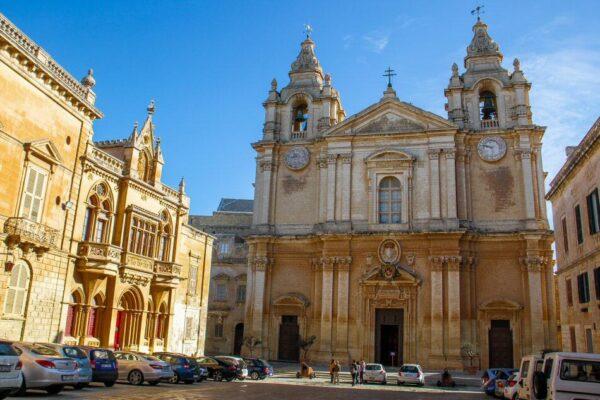 Catedral de San Pablo en Mdina en Malta