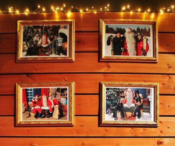 Santa Claus Village en Rovaniemi en Laponia Finlandia