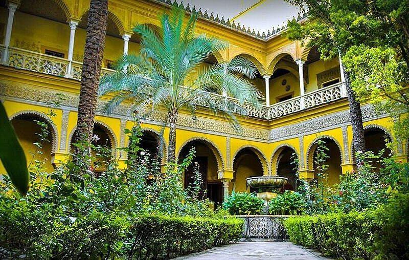 Palacio de las Dueñas en Sevilla