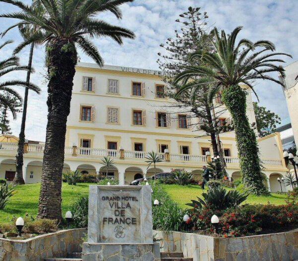 Hotel Ville de France en Tánger en Marruecos