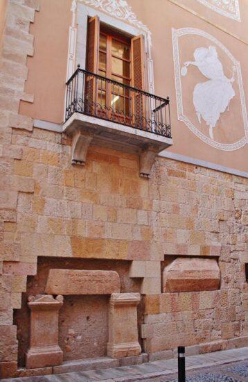Rincón del centro histórico de Tarragona