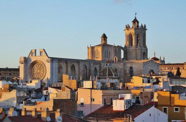 Catedral de Tarragona desde la Torre del Pretorio
