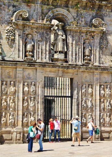 Catedral de Santiago de Compostela en Galicia