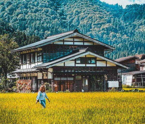 Zona de pueblos posta de Magome y Tsumago