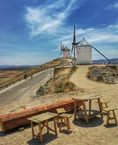 Molinos de Consuegra en Castilla-La Mancha