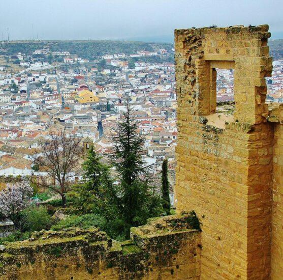 Fortaleza de la Mota en Alcalá la Real en Jaén