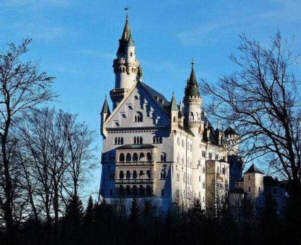 Castillo de Neuschwanstein en Baviera al sur de Alemania