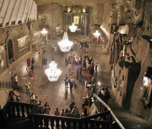 Minas de Sal de Wieliczka en Cracovia