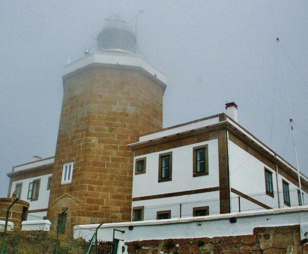 Faro de Finisterre en Galicia