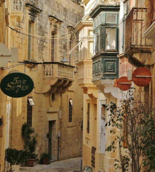 Rincón de Birgu en Malta