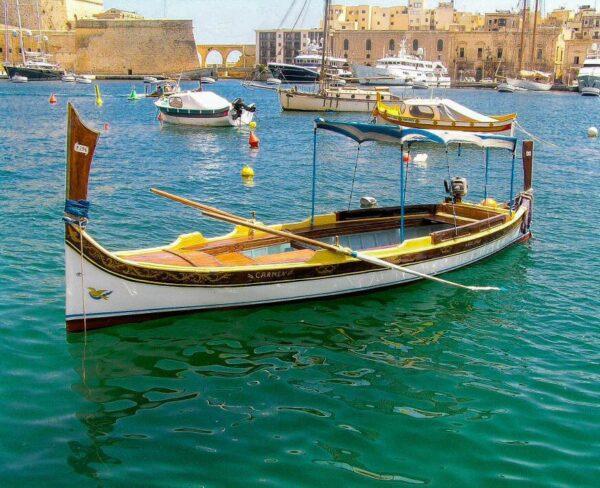 Barca tradicional de Malta