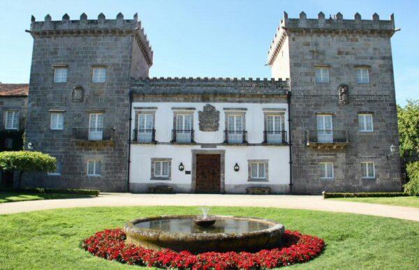 Pazo Quiñones de León en Vigo en Galicia