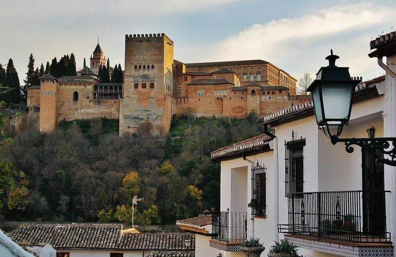 Alhambra de Granada desde el Albaicín