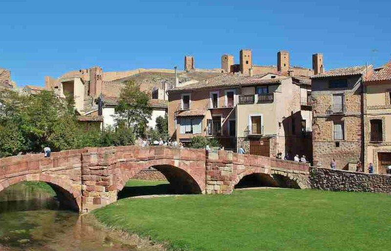 Puente Viejo de Molina de Aragón en Guadalajara