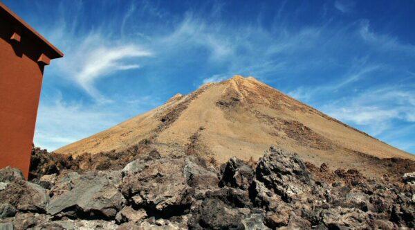 Pico del Teide en la isla de Tenerife en Canarias