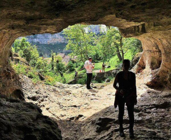 Cueva del Agua en Orbaneja del Castillo en Burgos