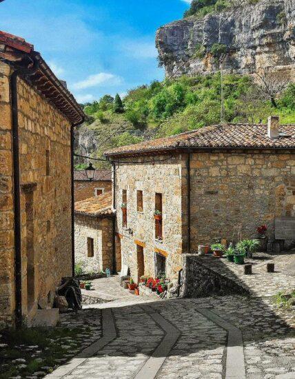 Rincón de Orbaneja del Castillo en Burgos