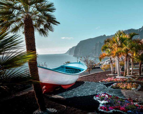 Paisajes del sur de Tenerife