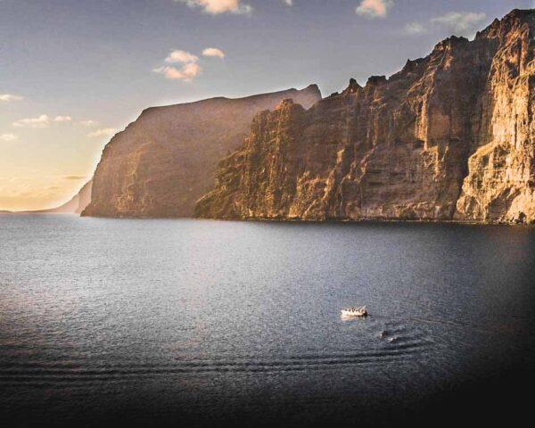Acantilado de Los Gigantes al sur de Tenerife