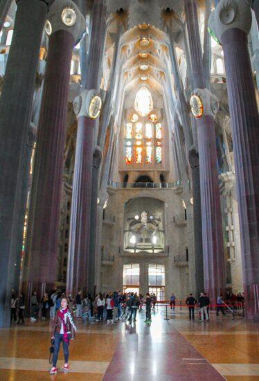 Transepto de la Sagrada Familia