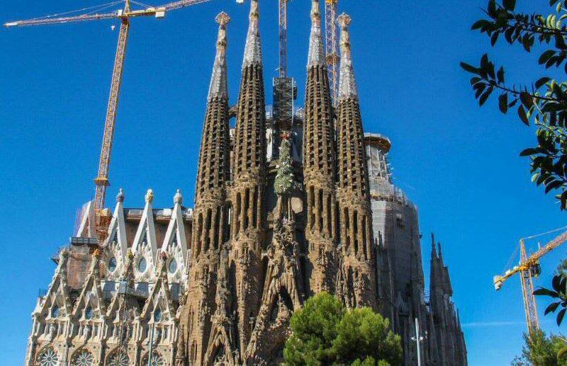 Sagrada Familia de Gaudí en Barcelona