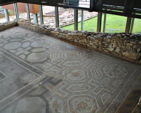 Villa romana de Veranes en Gijón