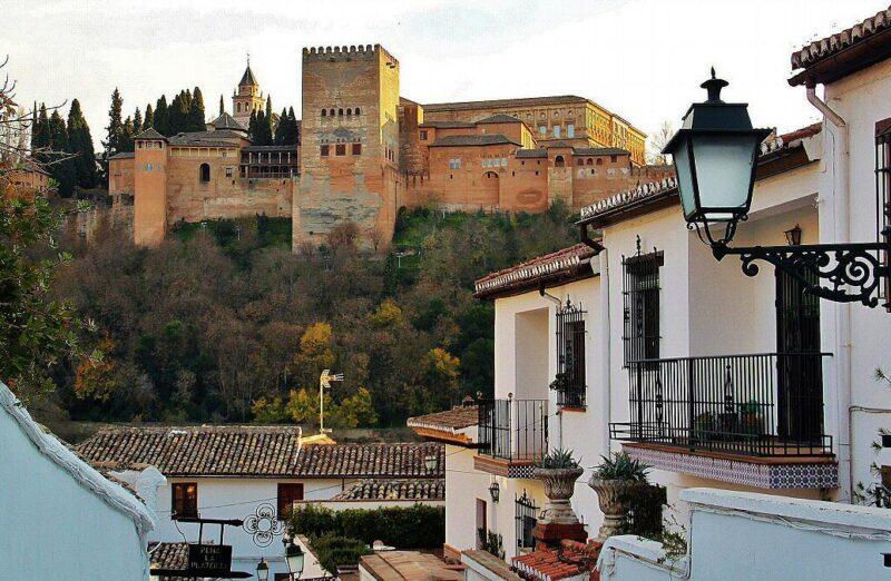 Alhambra de Granada desde el barrio del Albaicín