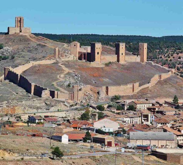 Castillo de Molina de Aragón en Guadalajara