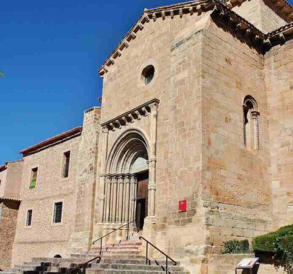 Iglesia de Santa Clara en Molina de Aragón en Guadalajara