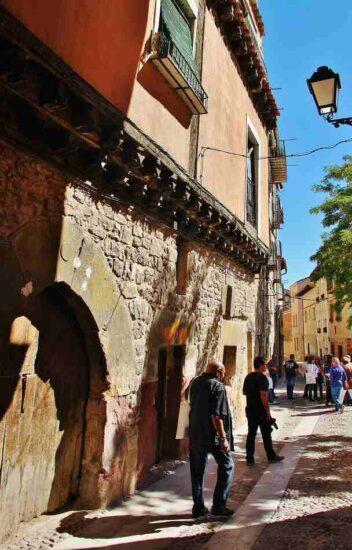 Barrio Judío en Molina de Aragón en Guadalajara