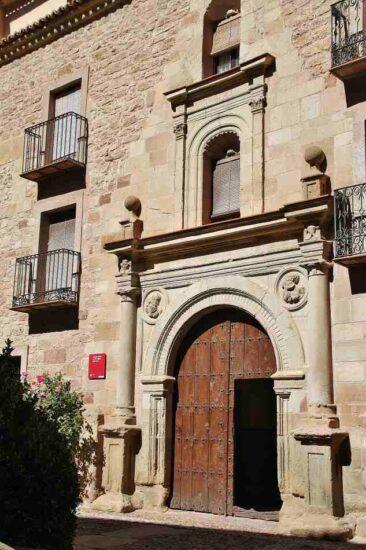 Antigua iglesia de San Miguel en Molina de Aragón en Guadalajara