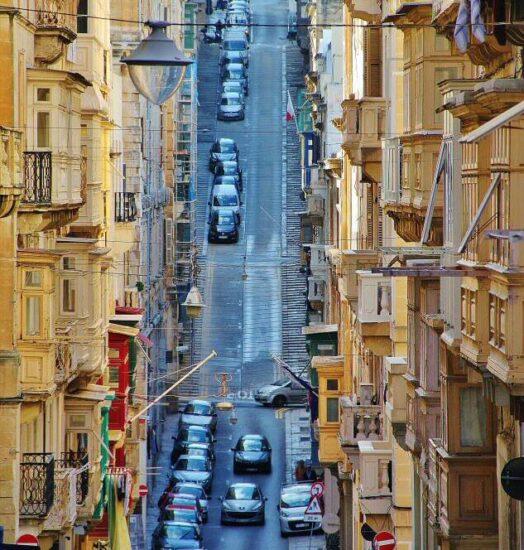Rincón de La Valeta en Malta