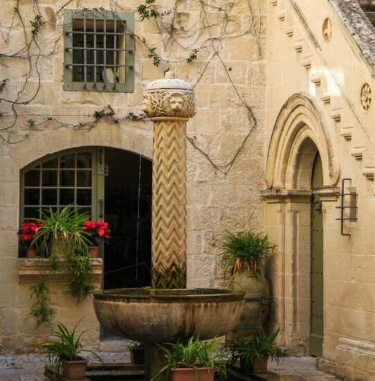 Palazzo Falson en Mdina en Malta
