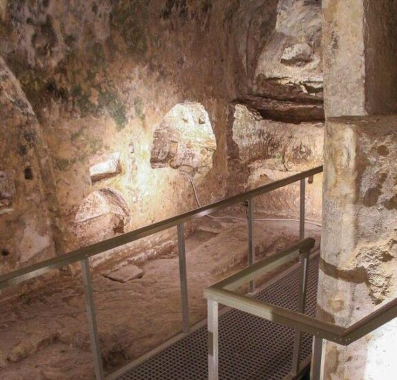 Catacumbas de San Pablo en Rabat en Malta