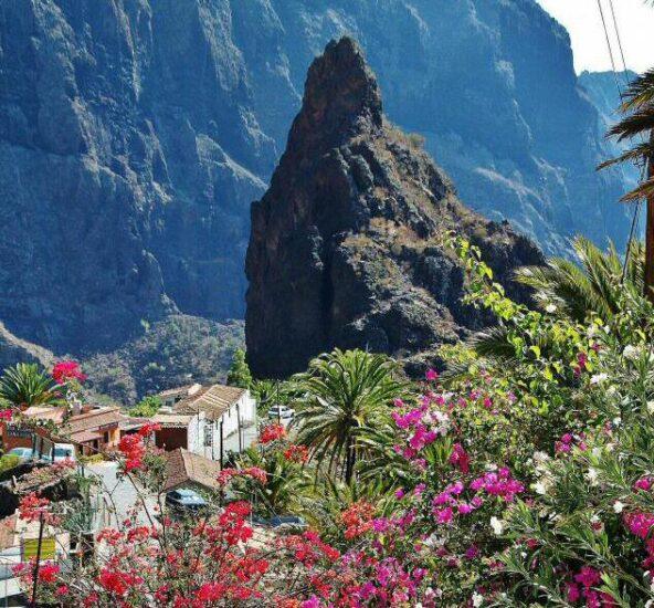 Barranco de Masca en Tenerife
