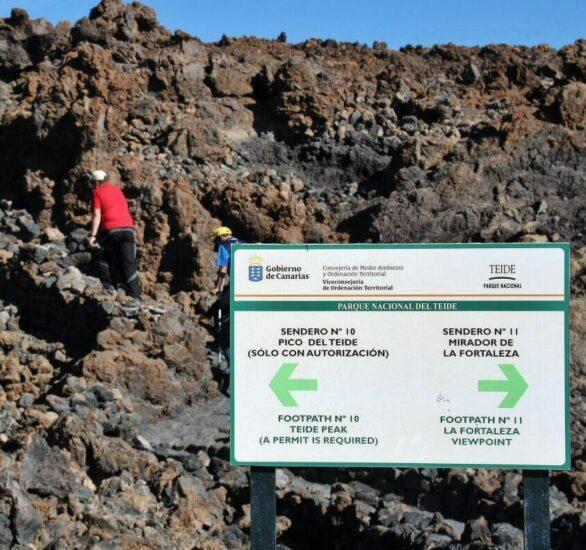 Rutas de senderismo en el Teide en Tenerife