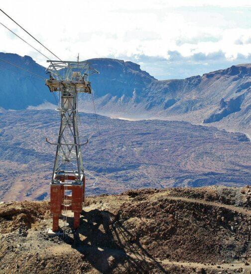 Teleférico del Teide en Tenerife en Canarias