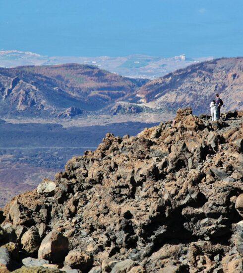 Vistas desde el Teide en Tenerife