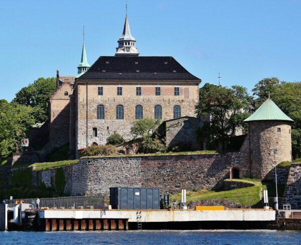 Fortaleza de Akershus en Oslo en Noruega