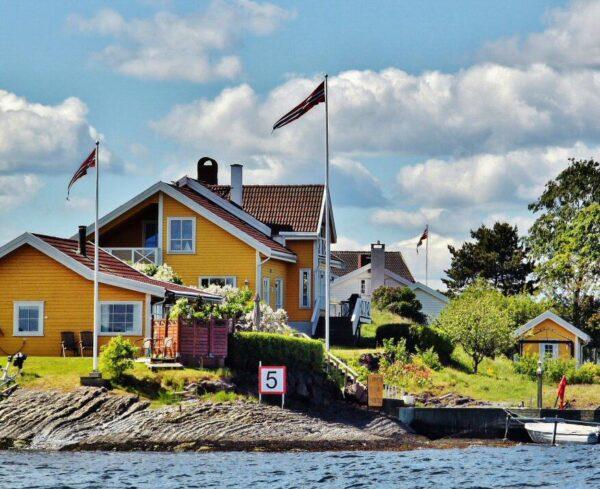 Crucero por el fiordo de Oslo en Noruega