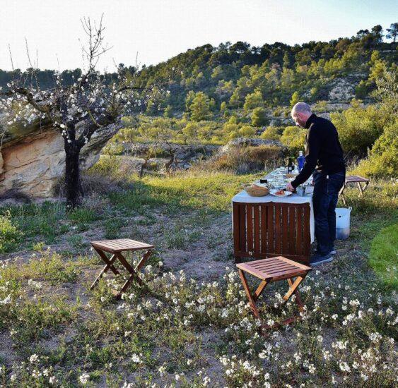 Actividad gastronómica en el campo con Olea Soul en Lleida