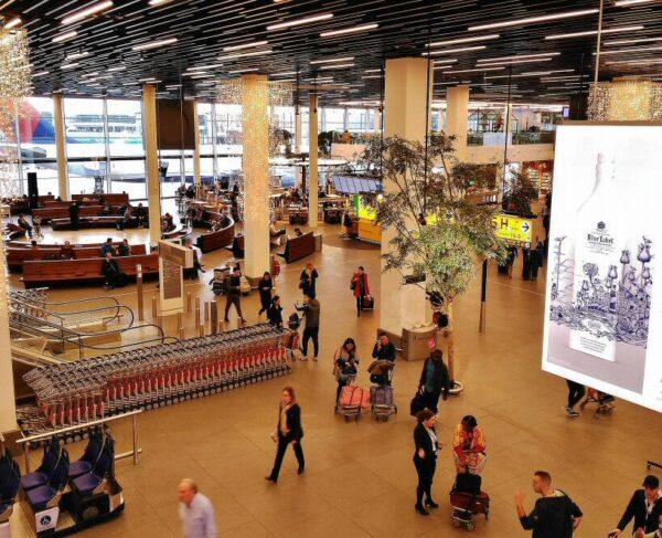 Aeropuerto de Schipol en Amsterdam