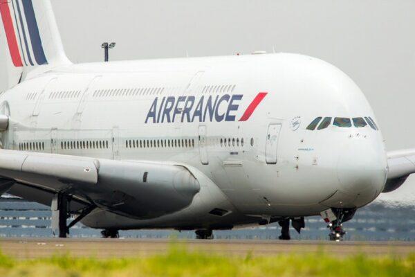 Avión A-380 de Air France